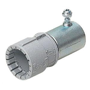 CPアダプタ-(Gタイプ)PF管14⇔薄鋼19 グレー 100個価格 未来工業 MFSCP-14GH