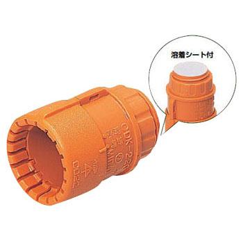 コネクタ(Gタイプ・溶着シート付)CD単層波付管16用 CDK-16GSA 300個価格 未来工業 CDK-16GSA