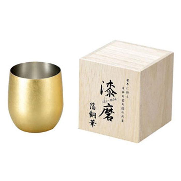 箔銅華 ロックカップ 340ml 取寄品 漆磨 シーマ CNS-D801
