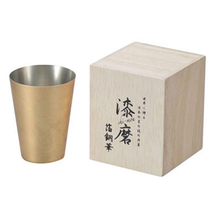 箔銅華 タンブラー 350ml 取寄品 漆磨 シーマ CNS-T801