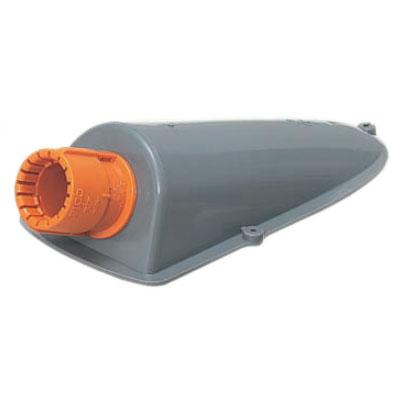 エンドカバー(Gタイプ・標準タイプ)CD単層波付管28用 50個価格 未来工業 CDE-28G