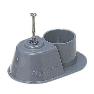 F・ころブッシング(コンパクト・スクリュー釘付)CD単層波付管16用 150個価格 未来工業 CDH-16FY