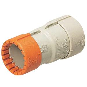 コンビネーションカップリング(Gタイプ)CD単層波付管36⇔PF管36 50個価格 未来工業 CDMFS-36G