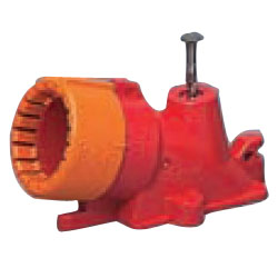 F・ころエンド(Gタイプ・スクリュー釘付)CD単層波付管22用 赤 100個価格 未来工業 CDE-22FGKR