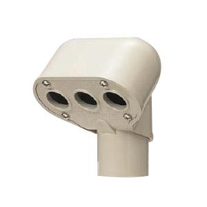 エントランスキャップ 適合管VE36 グレー 10個価格 未来工業 MEC-36