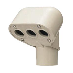 エントランスキャップ 適合管VE42 ライトブラウン 10個価格 未来工業 MEC-42LB