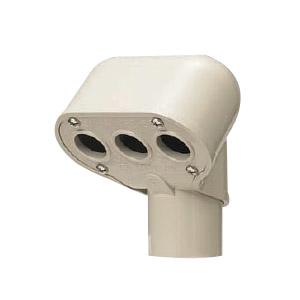 エントランスキャップ(セパレート)適合管VE54 ミルキーホワイト 10個価格 未来工業 MEC-54MM