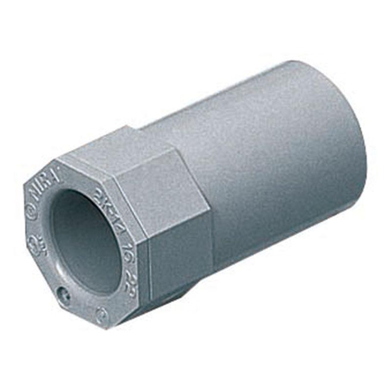 2号コネクタ 適合管VE54 グレー 20個価格 未来工業 2K-54