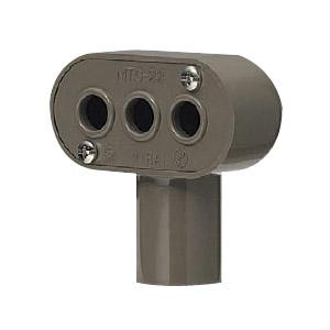 ターミナルキャップ 適合管VE28 チョコレート 20個価格 未来工業 MTC-28T
