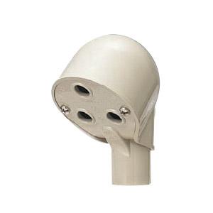 エントランスキャップ(セパレート)適合管VE16 ミルキーホワイト 30個価格 未来工業 MEC-16MM