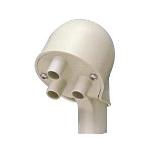 エントランスキャップ(ツバ付)適合管VE16 ミルキーホワイト 30個価格 未来工業 MEC-16TM