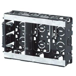 台付スライドボックス(3ヶ用セパレータ付・標準品36mm) 20個価格 未来工業 SB-3W