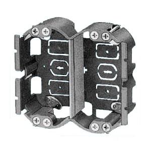 未来工業 SBホルソー用パネルボックス(2ヶ用セパレーター付・あと付はさみボックス) 20個価格 SBP-2EM