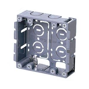 パネルボックス(2ヶ用・あと付はさみボックス) 20個価格 未来工業 SBP-W
