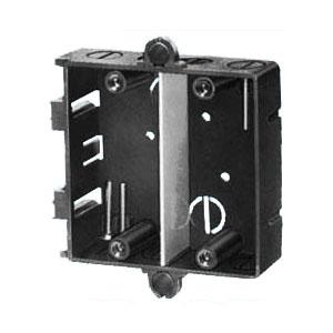磁石付台付スライドボックス(2ヶ用セパレーター付・標準品36mm) 100個価格 未来工業 SBW-GM