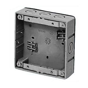 真壁用スイッチボックス(2ヶ用・浅形30mm) 20個価格 未来工業 SM30L-OD