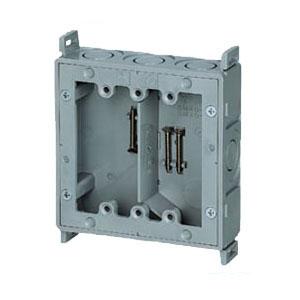 真壁用スイッチボックス(2ヶ用セパレーター付・深さ40mm) 20個価格 未来工業 SM40-WNF