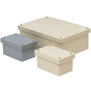 長方形防水プールボックス(カブセ蓋・ノック無)350×250×200mm グレー 1個価格 ※受注生産品 未来工業 PVP-352520B