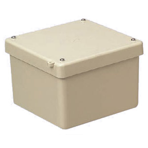 FRP製防水強化プールボックス(カブセ蓋)150×150×100mm ベージュ 5個価格 未来工業 FRP-1510B