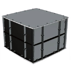 FRP製防水強化プールボックス カブセ蓋・ビッグサイズ(1個価格) ※受注生産品 未来工業 FRP-9070B