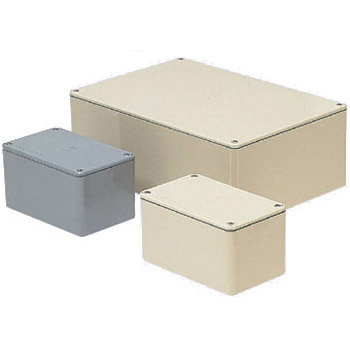 長方形防水プールボックス(平蓋・ノック無)600×500×200mm ベージュ 1個価格 ※受注生産品 未来工業 PVP-605020AJ