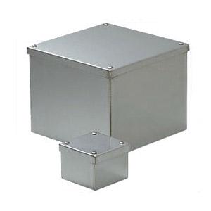 防水ステンレスプールボックス(カブセ蓋・アース端子付)407×407×400mm 1個価格 ※受注生産品 未来工業 SUP-4040BE
