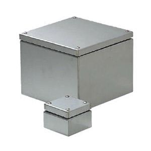 防水ステンレスプールボックス(水切り蓋・アース端子付) 400×400mm 1個価格 ※受注生産品 未来工業 SUP-4040PE
