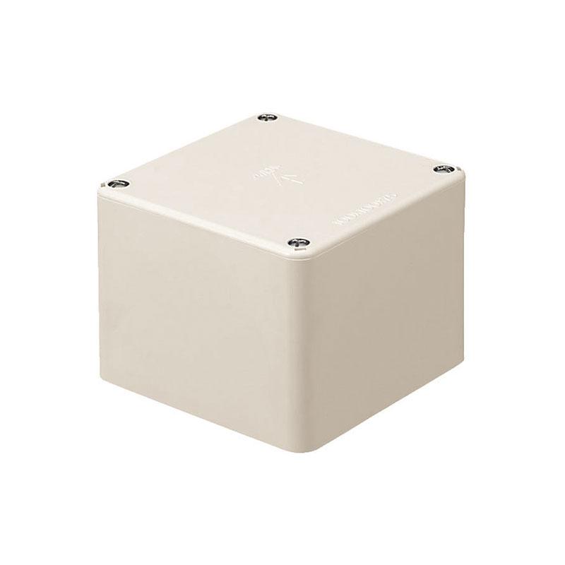 正方形プールボックス(ノック無)150×150×75mm ミルキーホワイト 10個価格 未来工業 PVP-1507M