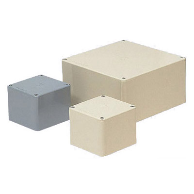 正方形プールボックス(ノック無)250×250×150mm ミルキーホワイト 5個価格 未来工業 PVP-2515M