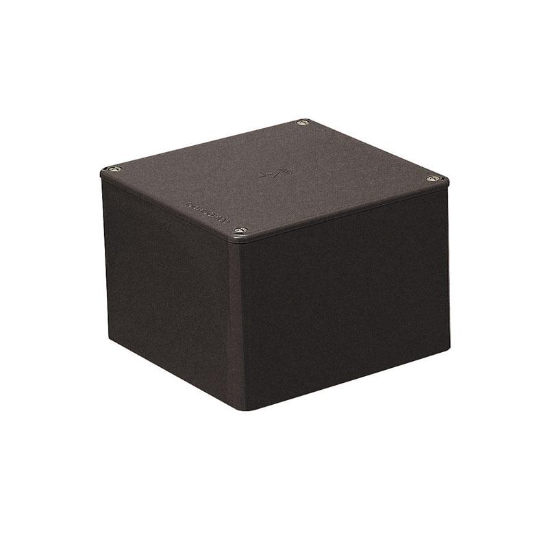 正方形プールボックス(ノック無)250×250×200mm チョコレート 2個価格 未来工業 PVP-2520T