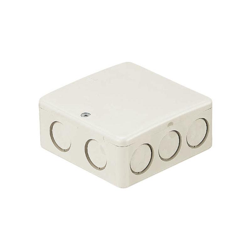 PVKボックス(Fタイプ・浅型・ノック付)ミルキーホワイト PVK-AFNM 50個価格 未来工業 PVK-AFNM