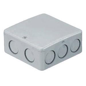 PVKボックス(Fタイプ・浅型・ノック付)グレー PVK-AFN 50個価格 未来工業 PVK-AFN
