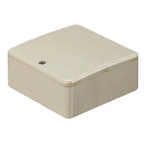 PVKボックス(Fタイプ・浅型・ノック無)ベージュ PVK-AFOJ 50個価格 未来工業 PVK-AFOJ