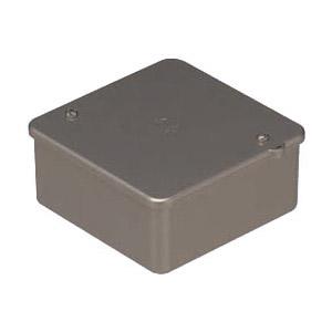 PVKボックス(中形四角浅型・ノック無)シャンパンゴールド 50個価格 未来工業 PVK-AOCG