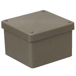 正方形防水プールボックス(カブセ蓋・ノック無) ライトブラウン 8個価格 未来工業 PVP-1507BLB