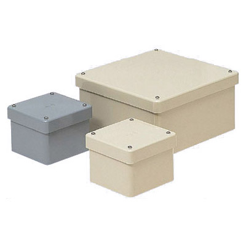 正方形防水プールボックス カブセ蓋 ノック無 150×150×100mm 未来工業 ベージュ 毎週更新 PVP-1510BJ 8個価格 卓出