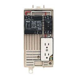 屋外電力用仮設ボックス(ベージュ色) 感度電流30mA 1個価格 未来工業 1L-1C