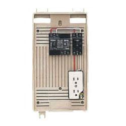 屋外電力用仮設ボックス(ベージュ色)感度電流30mA 1個価格 未来工業 2L-1C