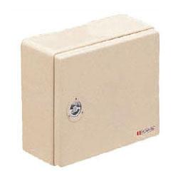 強化ボックス(屋根無・ヨコ型)扉片開き ベージュ色 1個価格 未来工業 FB-4050NJ