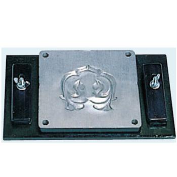 アルミ型板 はっそう D-1 (縦110×100mm専用) 盛光 DUAK-0023