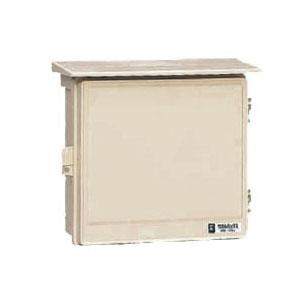 ウオルボックス(屋根付・ヨコ型)有効フカサ140 チョコレート 5個価格 未来工業 WB-13AT