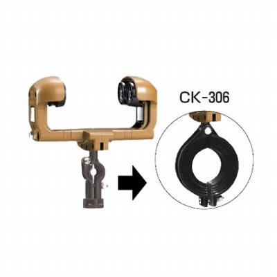 ケーブルカッシャー(I形鋼用)300型(CK-306) 4個価格 未来工業 CK-306