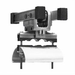 ケーブルカッシャー(アルミレール用)600型(CKA-604)(1個価格) ※受注生産品 未来工業 CKA-604