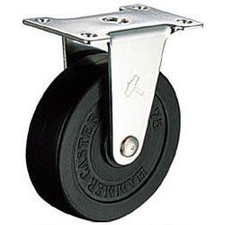 ハンマーキャスター ゴムキャスターEシリーズ ステンレス金具 車輪径100mm 320ER-R100 SEAL限定商品 固定式 おしゃれ