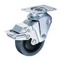 ハンマーキャスター クッションキャスター(自在式ストッパー付)線径2.0mm 935BBE-FR100-20