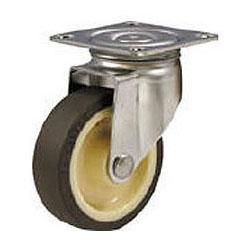 ハンマーキャスター 大型ウレタンキャスターSシリーズ(ステンレス金具)自在式 車輪径150mm 320S-UB150