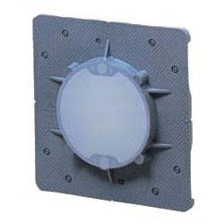 未来工業 大形四角用結露防止プラ塗代カバー 丸型 100個価格 OFL-11PYDK