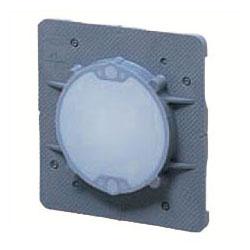 中形四角用結露防止プラ塗代カバー 丸型 100個価格 未来工業 OF-11PYDK
