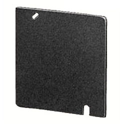 中形四角鉄製平塗代カバー ブランク 100個価格 未来工業 OF-12-B