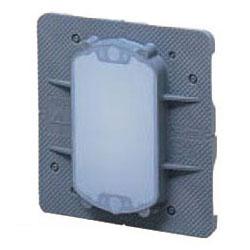 中形四角用結露防止プラ塗代カバー 小判型 100個価格 未来工業 OF-12PYDK